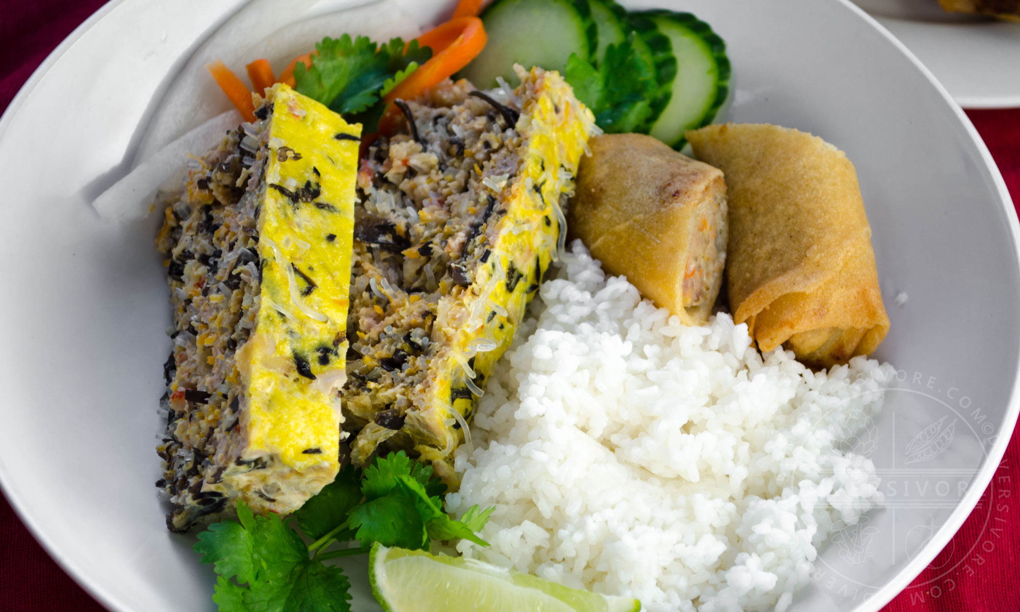 Vietnamese Egg Meatloaf (Chả Trứng Hấp) | diversivore