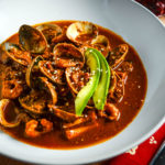 Seafood Soup with Red Pipian Sauce - Diversivore.com