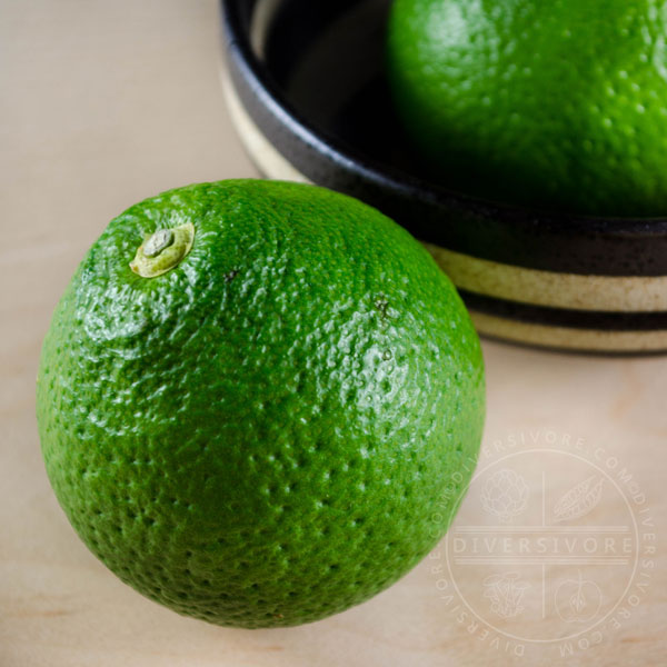 Yuzu fruit