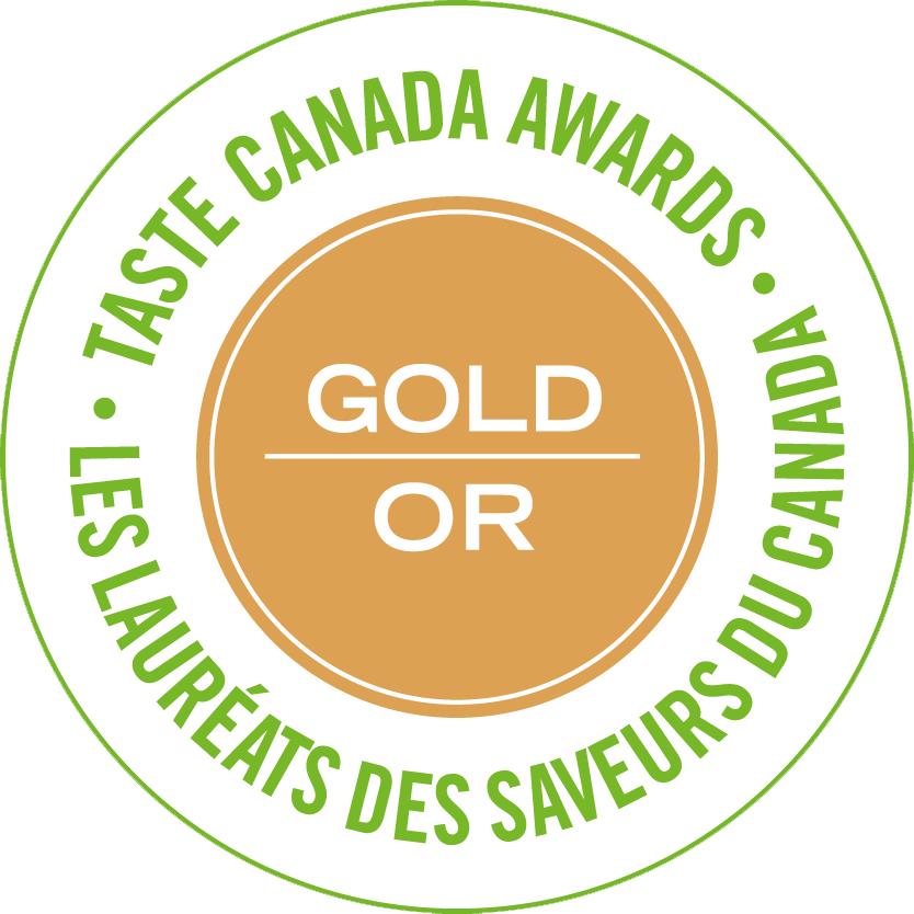 Taste Canada Award Gold